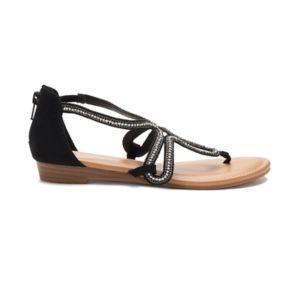 Candie's® Okra Women's Strappy Sandals