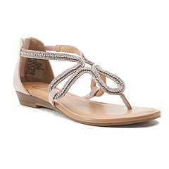 Candie's® Okra Women's Strappy Sandals