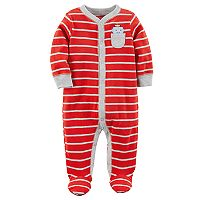 Baby Boy Carter's Robot Striped Sleep & Play