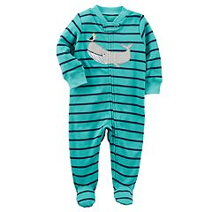 Baby Boy Carter's Whale & Pelican Striped Sleep & Play