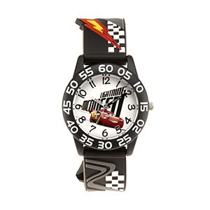 Disney / Pixar Cars 3 Lightning McQueen Time Teacher Watch