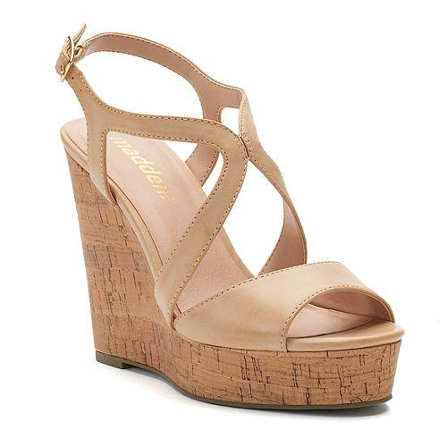 madden NYC Ellsaa Women's Wedge Sandals