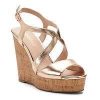 madden NYC Ellsaa Women's Wedge Sandals