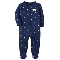 Baby Boy Carter's Navy Sleep & Play