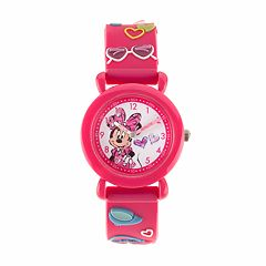 Disney's Minnie Mouse Time Teacher Watch