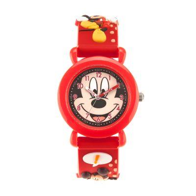 Disney's Mickey Mouse Roadster Racer Kids' Time Teacher Watch