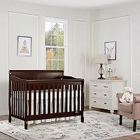 Dream On Me Ashton Full Panel 5-in-1 Convertible Crib