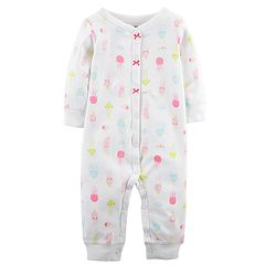 Baby Girl Carter's Jellyfish Footless One-Piece Pajamas