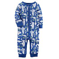 Baby Boy Carter's Submarine & Sealife One-Piece Footless Pajamas