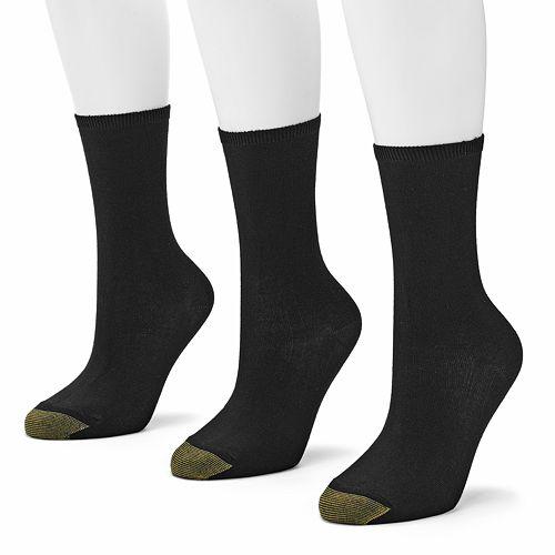 GOLDTOE® 3-pk. Castaway Crew Socks
