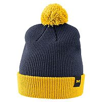 Adult Nike Michigan Wolverines Sideline Beanie