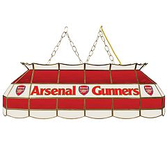 Arsenal FC 40-Inch Tiffany-Style Lamp