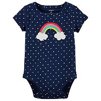 Baby Girl Carter's Rainbow Polka Dot Bodysuit