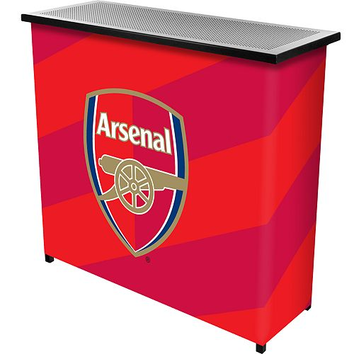 Arsenal FC Two-Shelf Portable Bar with Case