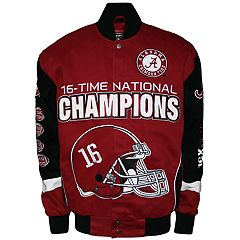 Men's Franchise Club Alabama Crimson Tide Commemorative Twill Jacket