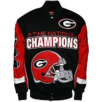 Men's Franchise Club Georgia Bulldogs Commemorative Twill Jacket