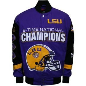 Men's Franchise Club LSU Tigers Commemorative Twill Jacket
