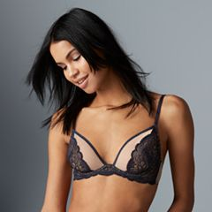 Lily of France Bras: Lace Shell Underwire Bra 2177002