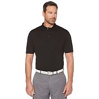 Big & Tall Grand Slam Driflow Regular-Fit Mini-Ottoman Textured Performance Golf Polo