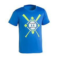 Toddler Boy Under Armour Baseball Diamond, Bats & Ball Graphic Tee