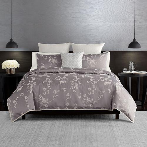 Simply Vera Vera Wang Ikat Floral 3 Piece Comforter Set