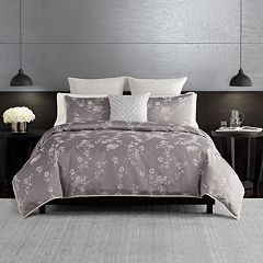 Simply Vera Vera Wang Ikat Floral 3-piece Duvet Cover Set