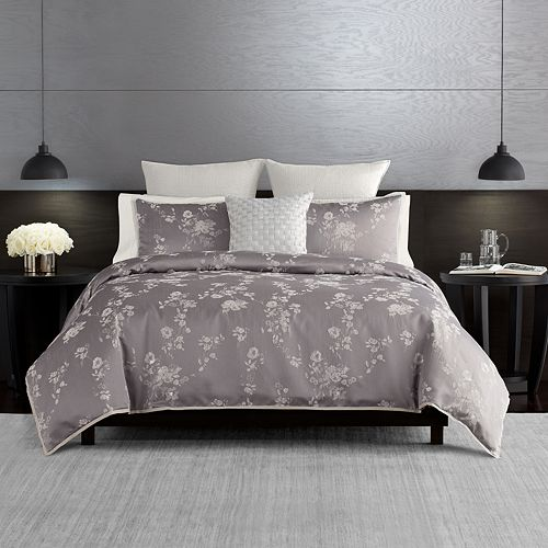 Simply Vera Vera Wang Ikat Floral 3 Piece Duvet Cover Set