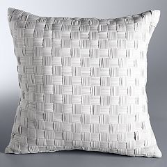 Simply Vera Vera Wang Basketweave Throw Pillow