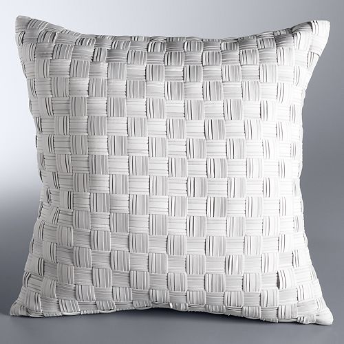 Simply Vera Vera Wang Basketweave Throw Pillow