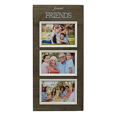 Melannco 'Forever Friends' 3-Opening 4' x 6' Collage Frame