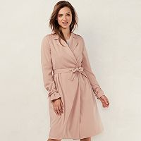 Women's LC Lauren Conrad Twill Trench Coat