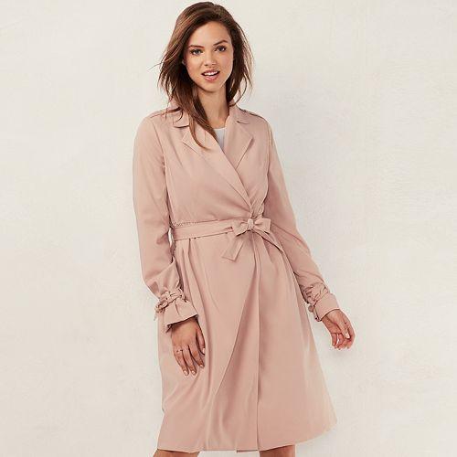 Women's LC Lauren Conrad Twill Trench Coat