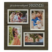 Melannco 'Friends' 4-Opening 4' x 6' Collage Frame