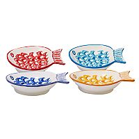 Certified International San Marino 4 pc Fish Bowl Set