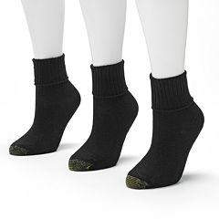 GOLDTOE® 3 pkBermuda Socks