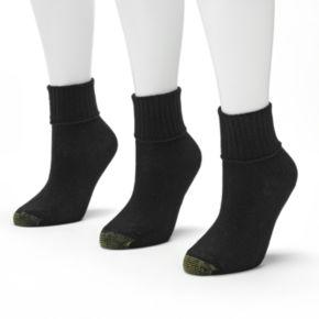 GOLDTOE 3-pk. Bermuda Socks