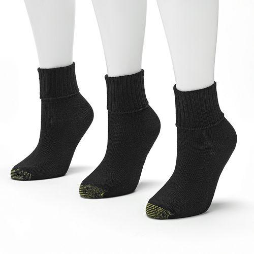 GOLDTOE® 3-pk. Bermuda Socks
