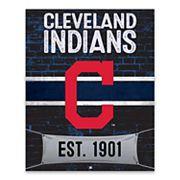 Cleveland Indians Brickyard Canvas Wall Art