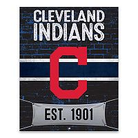 Cleveland Indians Brickyard Canvas Wall Art