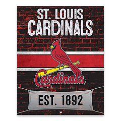 St. Louis Cardinals Brickyard Canvas Wall Art