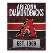 Arizona Diamondbacks Brickyard Canvas Wall Art