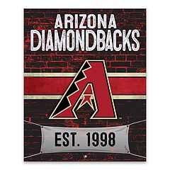 Arizona Diamondbacks Brickyard Canvas Wall Art