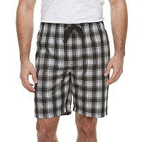 Men's Chaps Plaid Sleep Shorts