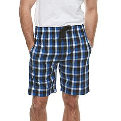 Men's Chaps Plaid Sleep Shorts