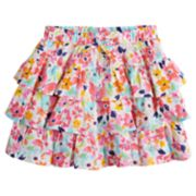 Girls 4-12 SONOMA Goods for Life? Patterned Tiered Ruffle Skort