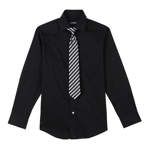 6c49ad22e Boys 4-18 Chaps Shirt & Tie Set