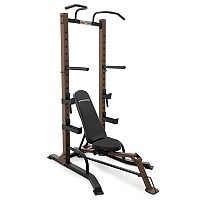 Marcy SteelBody 2 pc Power Workout Tower & Folding Bench Set