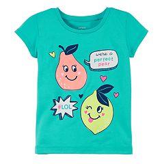 Toddler Girl Carter's Punny Fruit Graphic Tee