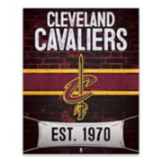 Cleveland Cavaliers Brickyard Canvas Wall Art