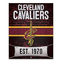 Cleveland Cavaliers Brickyard Canvas Wall Art